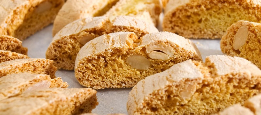 Twice-Baked Almond Cookies or Cantucci, Cantuccini and Tozzetti