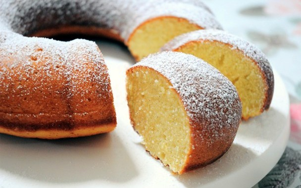 Baked Ring Cake or Ciambellone Tradizionale