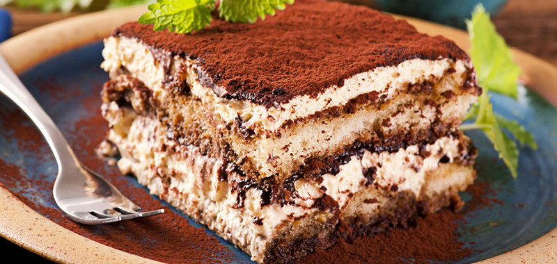 Classic Tiramisù or Coffee and Mascarpone Cake