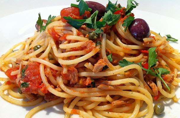 Classic Spaghetti With Tuna