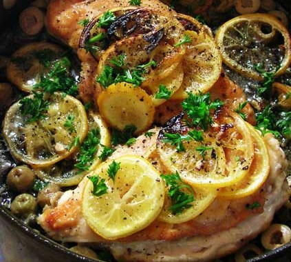 Easy Lemon Chicken Breast or Petto di Pollo al Limone