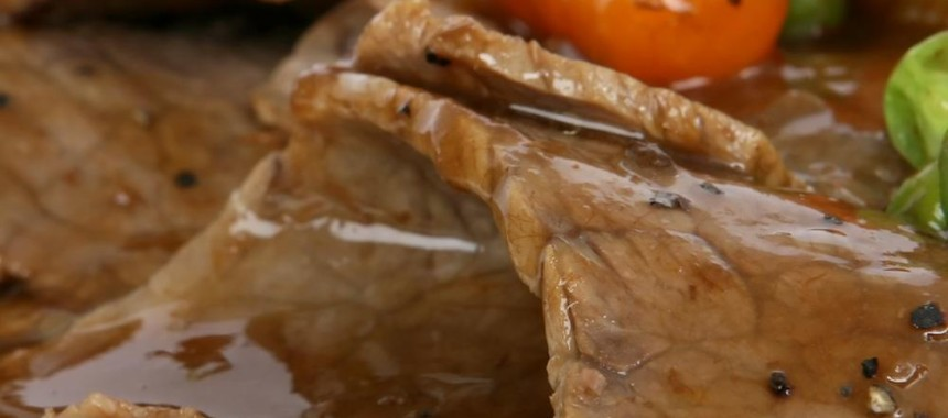 Healthy Veal Roast or Arrosto di Vitello