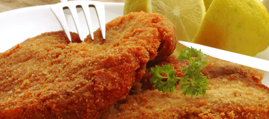 Breaded Veal Cutlet or Cotoletta alla Milanese