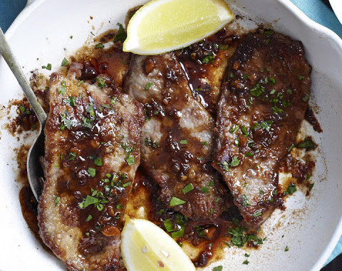 Veal Escaloppes with Marsala or Scaloppine al Marsala