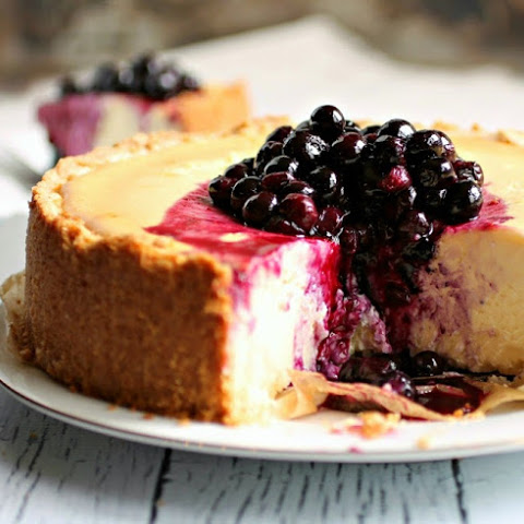 Light and Easy Lemon Ricotta Cheesecake or Torta di Ricotta al Limone