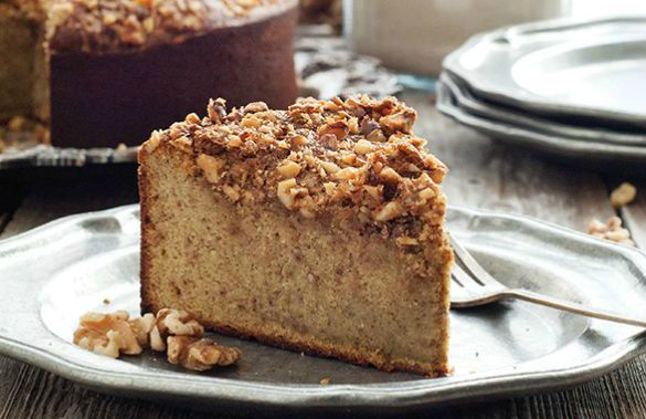 Walnut Cake or Torta alle noci