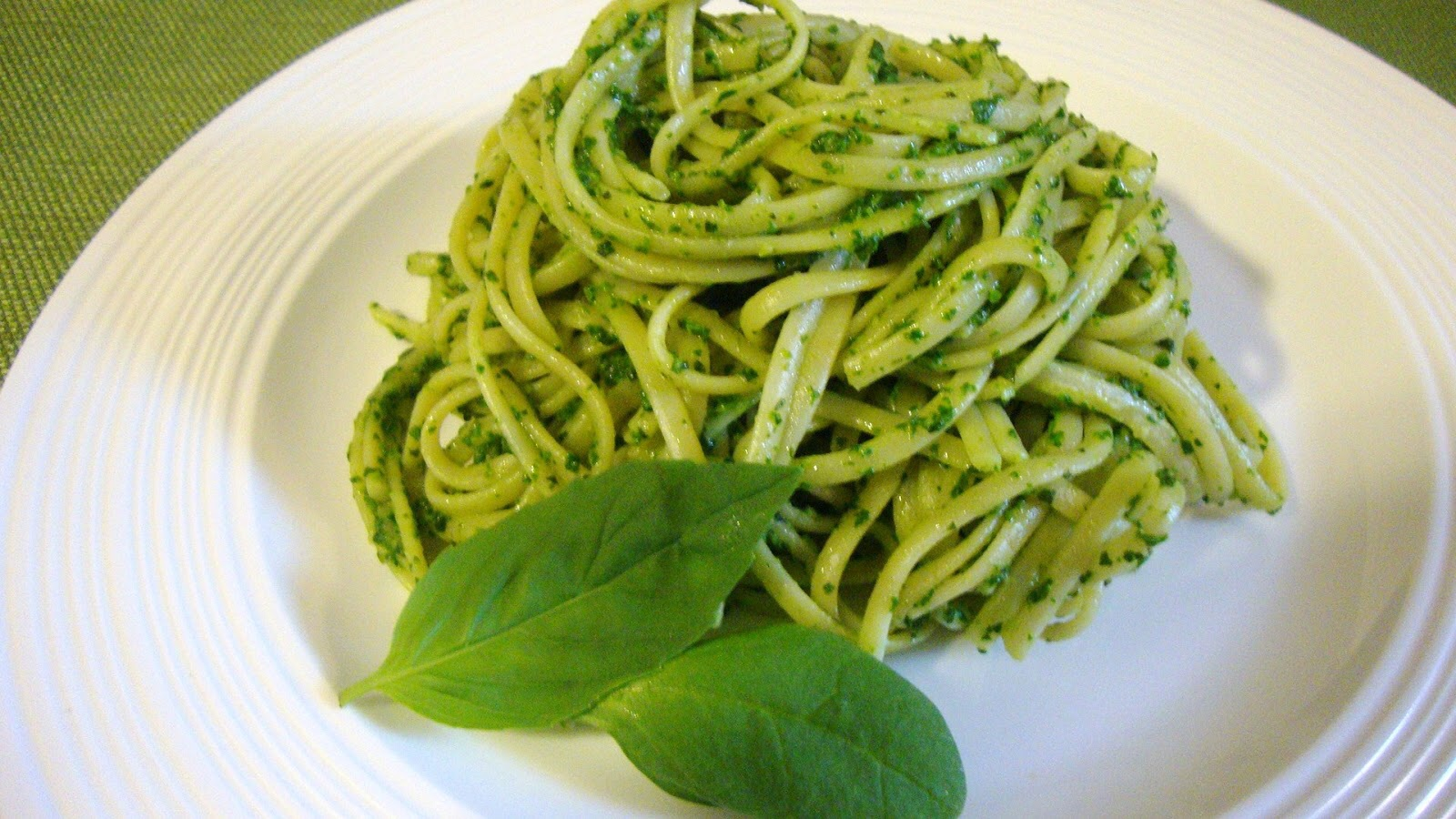 Linguine Pesto