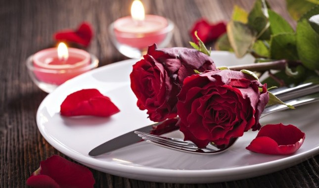 Saint Valentine's Romantic Menu