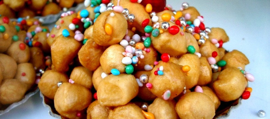 Indulgent Honey Dough Mini-Balls or Carnival Struffoli